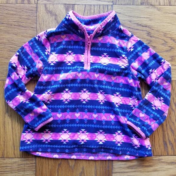 Vintage Osh Kosh B\u2019Gosh kids half zip sweater size 5
